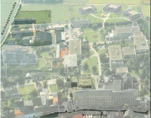 Das Gelände der Gangelter Einrichtungen